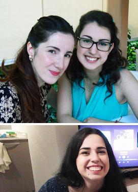 Alisia Rossella e Cristina