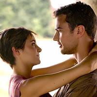 Theo James (Quattro) e Shailene Woodley (Tris)