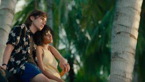 Una scena del film tratto dal romanzo.